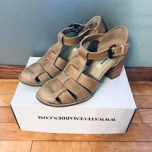 Steve Madden Heels-Closed Toe Sandals